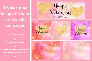 Valentine Social Media Bundle