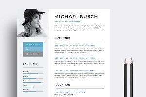 Creative Minimal Resume