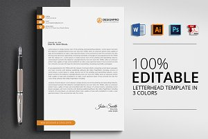 Letterhead Template with Word Format
