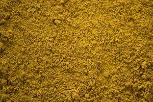 Close up of turmeric powder