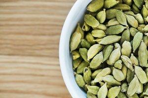 Close up of pumpkin seeds