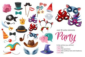 Party Accessories Set