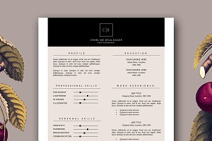 Resume Template + Cover Letter docx