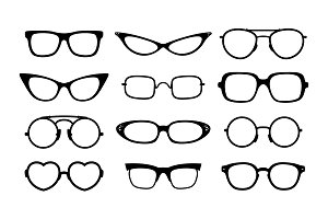 Vector eyeglasses