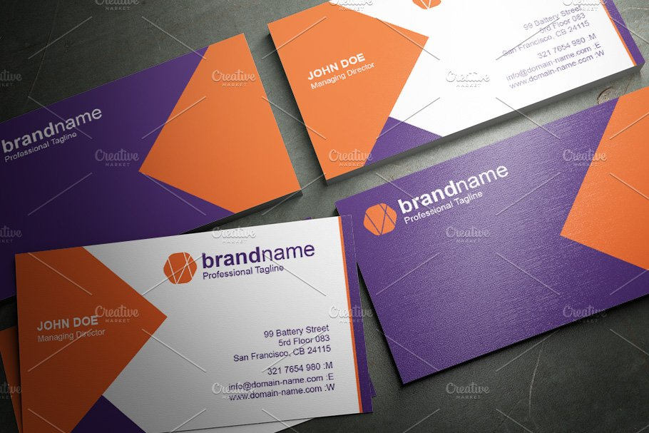 50 Corporate Timeless Business Card in Business Card Templates - product preview 47