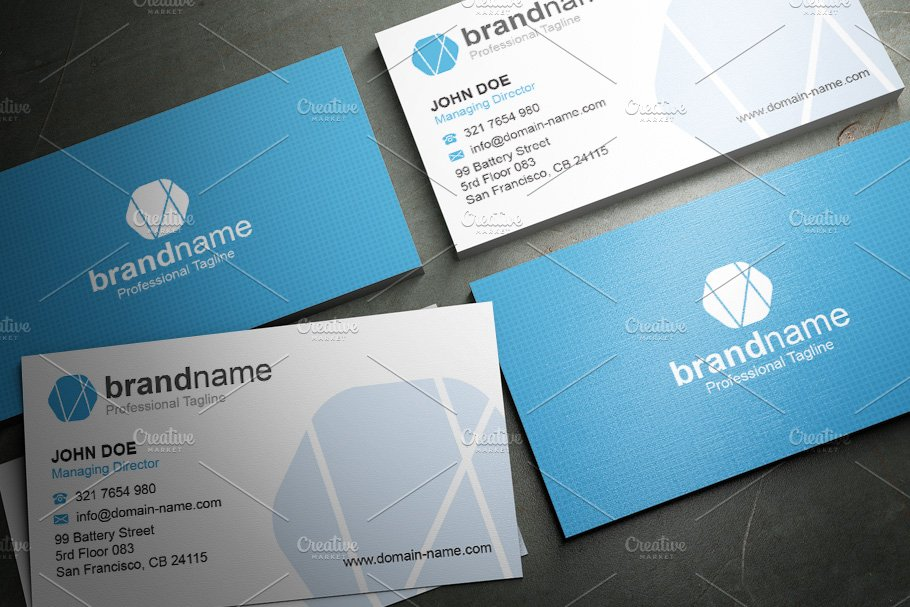 50 Corporate Timeless Business Card in Business Card Templates - product preview 46