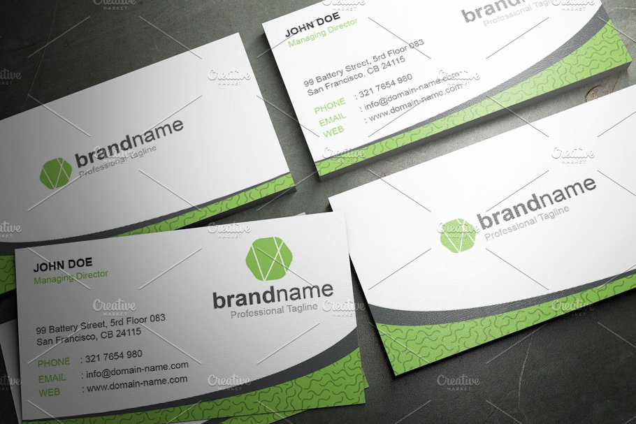 50 Corporate Timeless Business Card in Business Card Templates - product preview 41