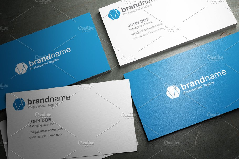 50 Corporate Timeless Business Card in Business Card Templates - product preview 32