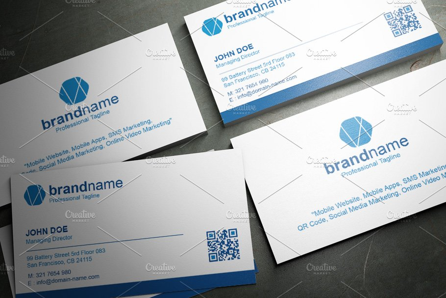 50 Corporate Timeless Business Card in Business Card Templates - product preview 22