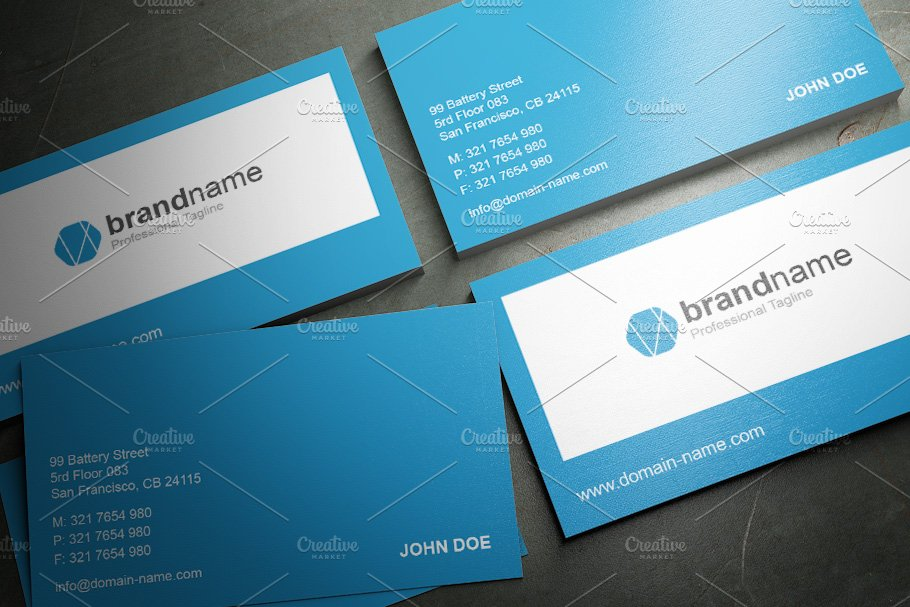 50 Corporate Timeless Business Card in Business Card Templates - product preview 21