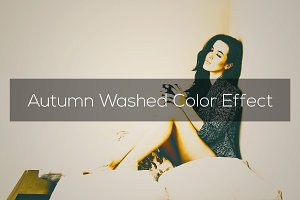 Autumn Washed Color Effect