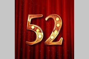 52 years anniversary