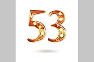 53 years anniversary