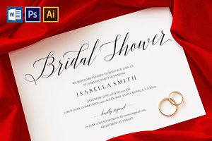 Bridal Shower Invitation Wpc 129