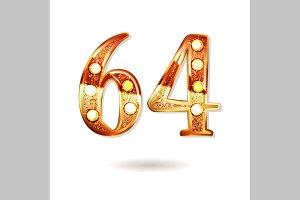 64 years anniversary