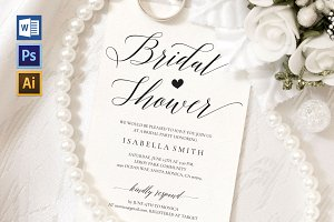 Bridal Shower Invitation Wpc40