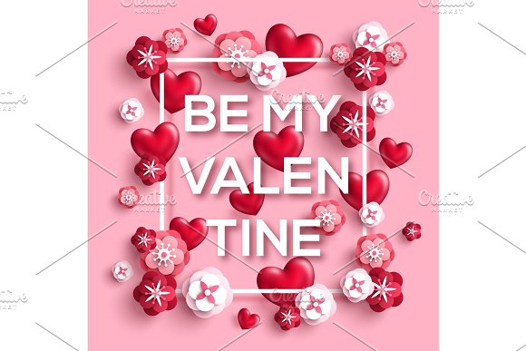 Be My Valentine Concept