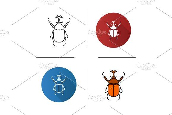 Hercules Beetle Icon