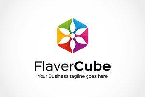 Flaver Cube Logo Template