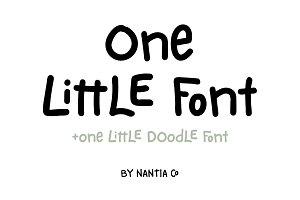 One Little Font Greek / Latin