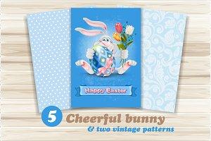 Cheerful bunny