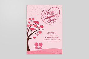 Valentines Day Invitation Flyer V753
