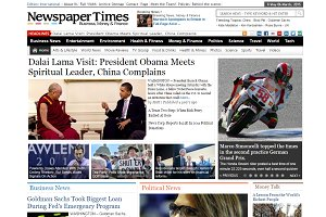 NewspaperTimes News Magazine Theme