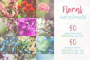 Beautiful Floral Insta Bundle