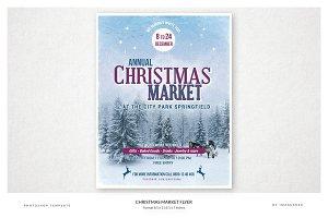 Christmas Market Flyer - 2 Formats