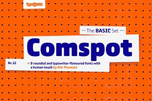 Comspot – 8 Fonts Pack