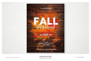 Fall Festival Flyer II