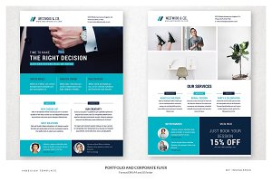 Portfolio and Corporate Flyer
