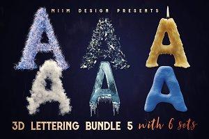 3D Lettering MegaBundle 5