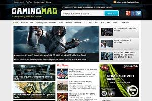 GamingMag Gaming News Theme