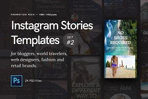 Instagram Stories — Promotion Pack#2