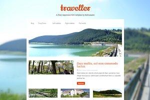 Traveller – responsive html template