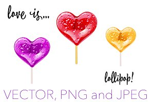 Love is... lollipop