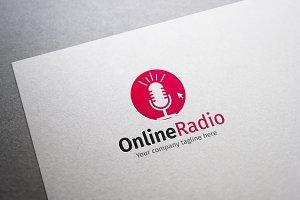 Online Radio Logo