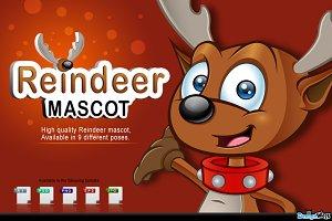 Reindeer Mascot Character