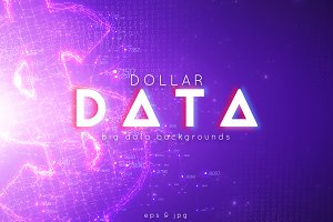 Dollar Big Data Backgrounds