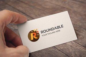 Letter R (Roundable) Logo