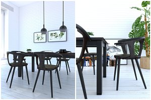 1601 Dining chair