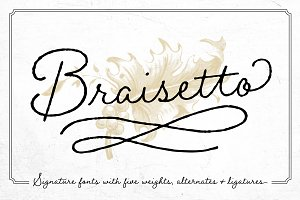 Braisetto Fonts - 50% Off