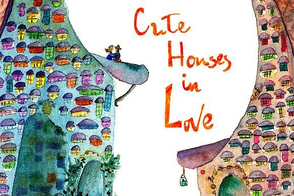Cute Houses In Love