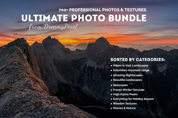 Ultimate Photo Bundle 700 Images