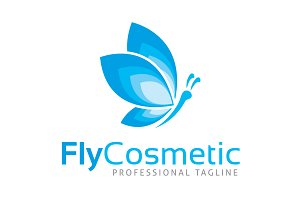 Fly Cosmetic Logo Template