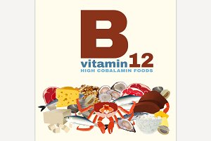 Vitamin B12 in Food
