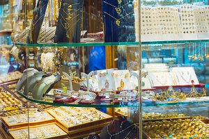 Jewelry shops Tehran Grand Bazaar