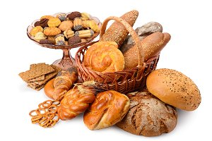 Variety bread products