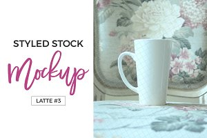 Styled Stock Photo Latte Mug #3